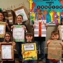 Third Grade Book Jackets Project photo album